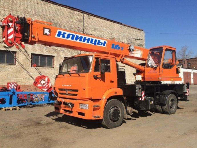 Автокран Клинцы 16 тонн